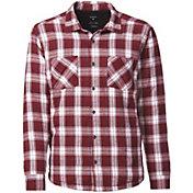 Quiksilver Men's Tippers 2 Button Up Long Sleeve Shirt