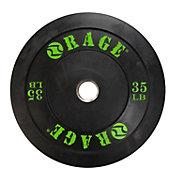 Rage 35 lb Olympic Pro Bumper Plate