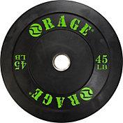 Rage 45 lb. Olympic Pro Bumper Plate