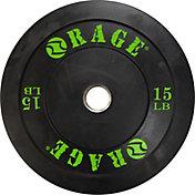 Rage 15 lb. Olympic Pro Bumper Plate
