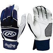 Rawlings Adult Workhorse Batting Gloves w/ Compression Strap