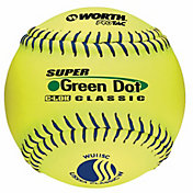 "Worth 11"" USSSA Super Green Dot Slow Pitch Softball"