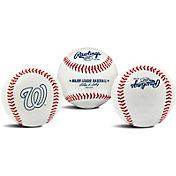 Rawlings Washington Nationals Logo Baseball