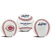 Rawlings Cincinnati Reds Logo Baseball