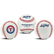 Rawlings Texas Rangers Logo Baseball