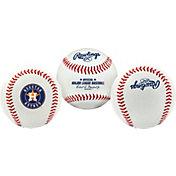 Rawlings Houston Astros Logo Baseball
