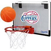 Rawlings Los Angeles Clippers Game On Polycarbonate Hoop Set