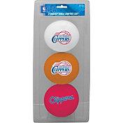 Rawlings Los Angeles Clippers Softee Basketball Three-Ball Set