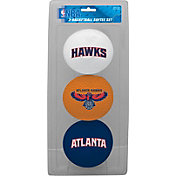 Rawlings Atlanta Hawks Softee Basketball-Three Ball Set