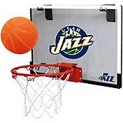 """Rawlings Utah Jazz """"Game On"""" Polycarbonate Hoop Set"""