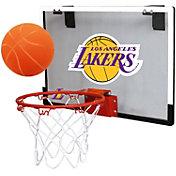 Rawlings Los Angeles Lakers Game On Backboard Hoop Set