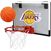 Rawlings Los Angeles Lakers Game On Backboard Hoop Set