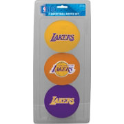 Rawlings Los Angeles Lakers Softee Basketball Three-Ball Set