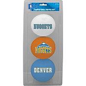 Rawlings Denver Nuggets Softee Basketball Three-Ball Set