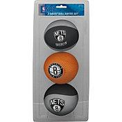 Rawlings Brooklyn Nets Softee Basketball Three-Ball Set