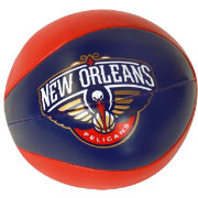 "Rawlings New Orleans Pelicans 4"" Softee Basketball"