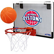 Rawlings Detroit Pistons Game On Polycarbonate Hoop Set