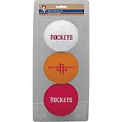 Rawlings Houston Rockets Softee Basketball 3-Ball Set