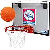 Rawlings Philadelphia 76ers Game On Polycarbonate Hoop Set