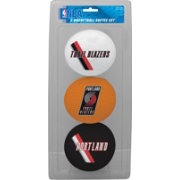 Rawlings Portland Trail Blazers Softee Basketball Three-Ball Set