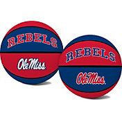 Rawlings Ole Miss Rebels Alley Oop Youth-Sized Rubber Basketball