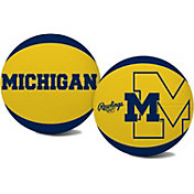 Rawlings Michigan Wolverines Alley Oop Youth-Size Basketball