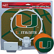Rawlings Miami Hurricanes Softee Hoop Set