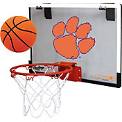 Rawlings Clemson Tigers Game On Backboard Hoop Set