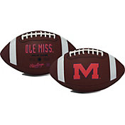 Rawlings Ole Miss Rebels Full-Sized Game Time Football