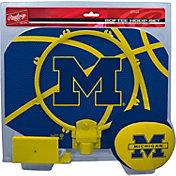 Rawlings Michigan Wolverines Slam Dunk Softee Hoop Set