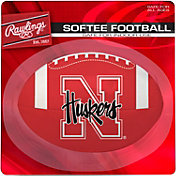 Rawlings Nebraska Cornhuskers Quick Toss Softee Football