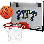 Rawlings Pitt Panthers Game On Backboard Hoop Set