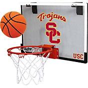 Rawlings USC Trojans Game On Backboard Hoop Set