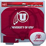 Rawlings Utah Utes Softee Hoop Set