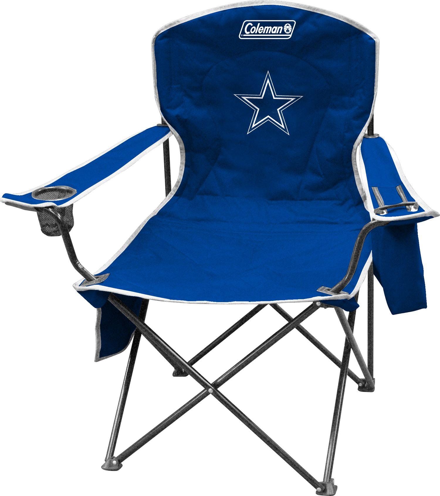 Coleman Dallas Cowboys Quad Chair With Cooler