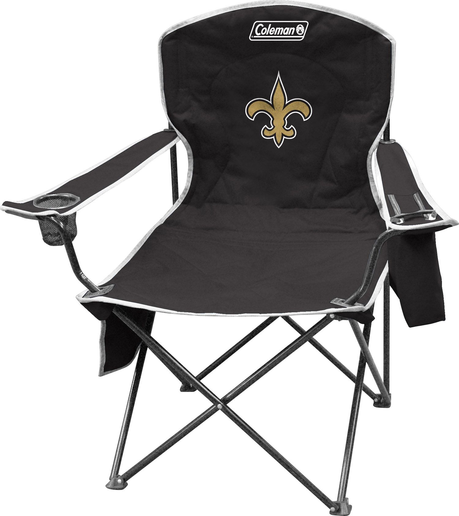 New orleans saints nfl bottle jersey drink cooler dragon sports - Product Image Coleman New Orleans Saints Quad Chair With Cooler