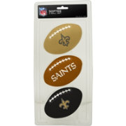 Rawlings New Orleans Saints Softee Three-Football Set
