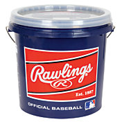 Rawlings Official League Leather Baseball Bucket