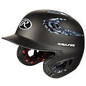 Rawlings Junior R16 Camo Batting Helmet