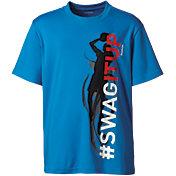 Reebok Boys' #SwagItUp Graphic Basketball T-Shirt