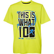Reebok Boys' What I Do Graphic Football T-Shirt