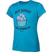 Reebok Girls' Crewneck Graphic Volleyball T-Shirt