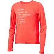 Reebok Girls' To Do List Graphic Long Sleeve Shirt