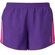 Reebok Girls' Mesh Pieced Running Shorts