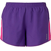 Reebok Girls' Mesh Pieced Running Shorts