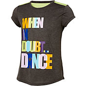 Reebok Girls' Fashion Dance Graphic T-Shirt