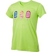 Reebok Girls' Softball Popsicles Graphic V-Neck T-Shirt