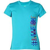 Reebok Girls' Graphic T-Shirt