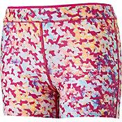 Reebok Girls' Warm Weather Printed 3'' Shorts