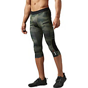 Reebok Men's One Series Camo Three Quarter Length Compression Tights